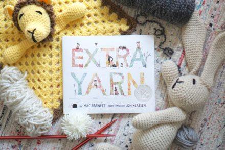 EXTRA YARN + CROCHET TOY FLATLAY