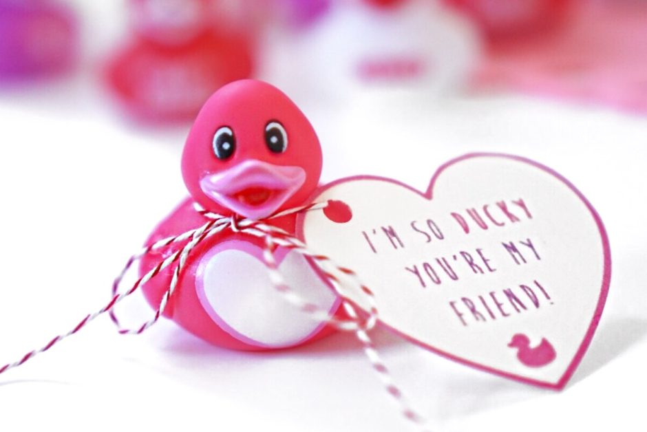 Valentine's Day Rubber Duckies