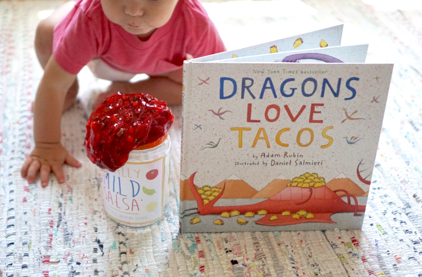 Free Printable Jar Label Sensory Activity for Toddlers Totally Mild Salsa Slime Recipe Dragons Love Tacos Book Box