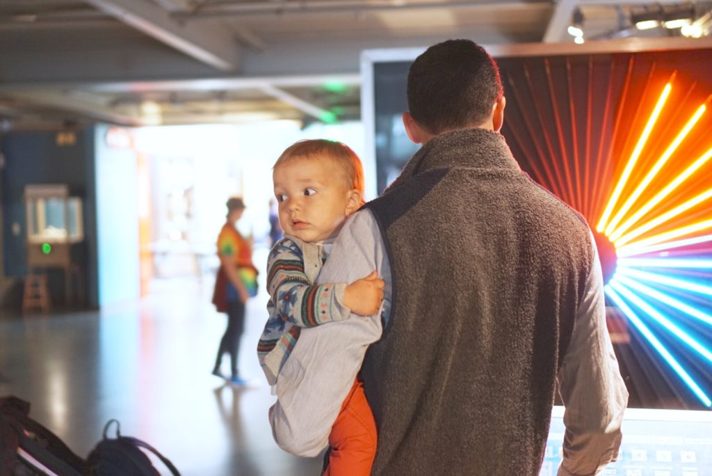 Exploratorium San Francisco with Toddler