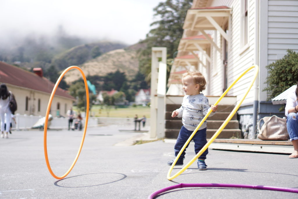 Bay Area Discovery Museum Hula Hoops Must See Attractions around San Francisco for Toddler Parents