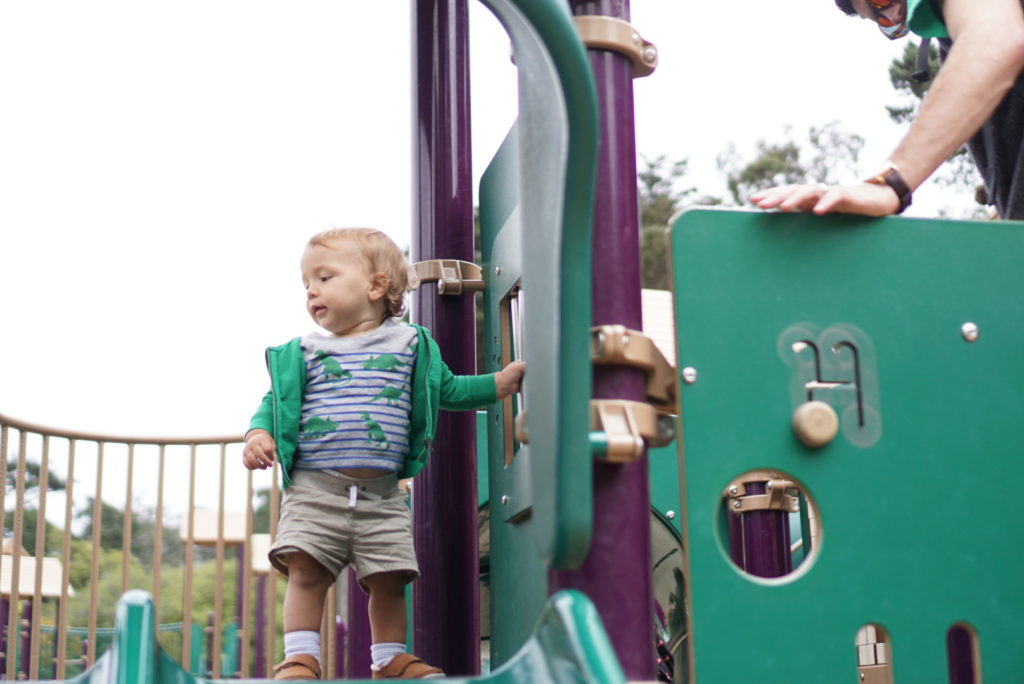Koret Children's Playground San Francisco with Toddler