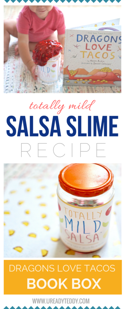 TOTALLY MILD SALSA SLIME RECIPE DRAGONS LOVE TACOS BOOK