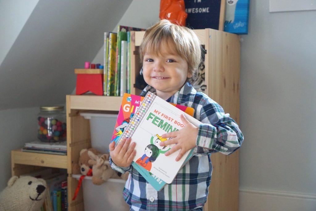 Julie Merberg Childrens Books Feminism for Boys, Jewish Baby Book, Girl Power DC Comics, Mini Masters