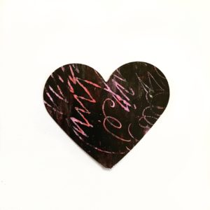 diy scratch art heart craft toddler