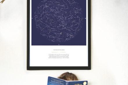 Greater Skies Custom Star Map