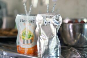 Juice pouch  robot snack craft