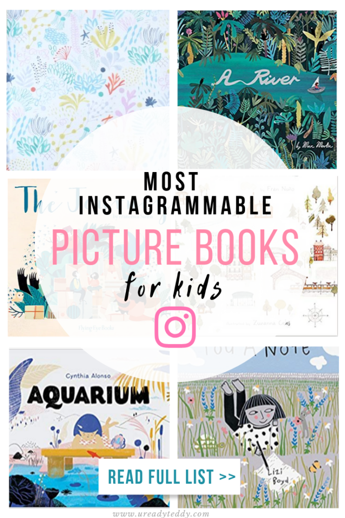 most instagrammable picture books for kids, prettiest children's book list, cute, stylish, modern