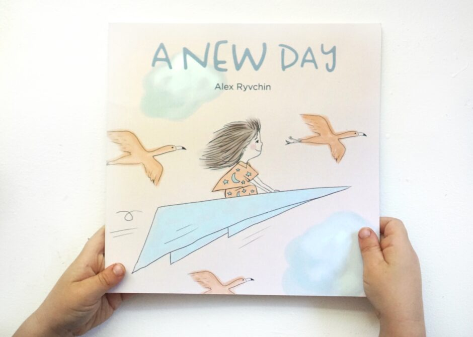 A Brand New Day Alex Ryvchin Children's Book about Coronavirus