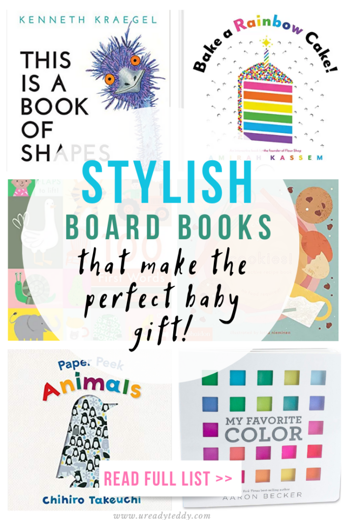 stylish board books that make the perfect baby gift